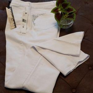 JNY White Jeans